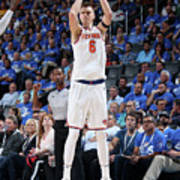 New York Knicks V Oklahoma City Thunder Poster