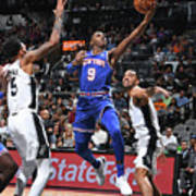 New York Knicks V San Antonio Spurs Poster