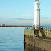 Newhaven Harbour Edinburgh Poster