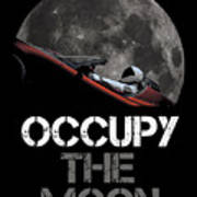 Occupy The Moon Poster