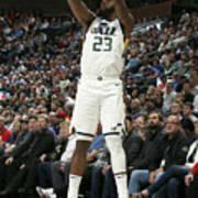 Oklahoma City Thunder V Utah Jazz Poster