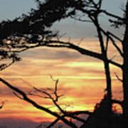 Oregon Coast Sunset Poster