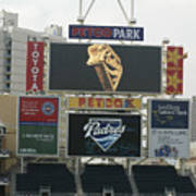 Padres V Giants Poster