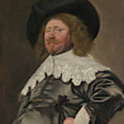 Portrait Of A Man  Possibly Nicolaes Pietersz Duyst Van Voorhout  Poster
