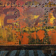 Railcar Abstract Poster