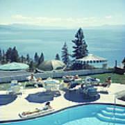 Relaxing At Lake Tahoe Poster