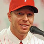 Roy Halladay Press Conference Poster