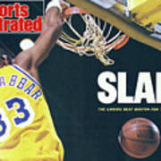 Slam The Lakers Beat Boston For The Nba Title Sports Illustrated Cover Poster