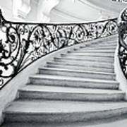 Staircase In Paris Poster