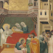 The Birth, Naming, And Circumcision Of Saint John The Baptist Poster