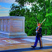 Tomb Of The Unknown Soldier Painting Poster