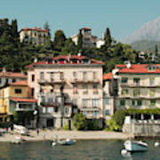 Town In The Shore Of Lake Como Poster