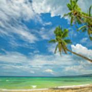 Tropical Beach, Siquijor Island Poster