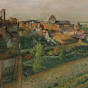 View Of Saint Valery Sur Somme  Poster