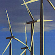Wind Power Art  Poster