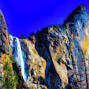 Winter Bridalveil Falls Poster