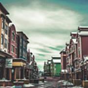 Winter Morning - Park City, Utah Poster