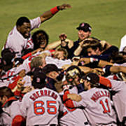World Series Red Sox V Cardinals Game 4 Poster