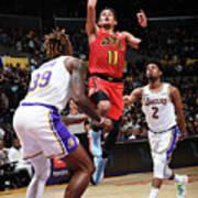 Atlanta Hawks V Los Angeles Lakers Poster