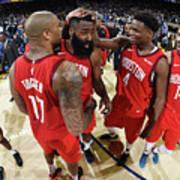 Houston Rockets V Golden State Warriors Poster