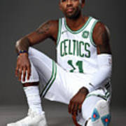 Kyrie Irving Boston Celtics Portraits Poster