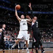 La Clippers V Brooklyn Nets Poster