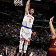 New York Knicks V Cleveland Cavaliers Poster