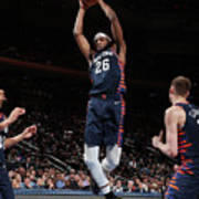 Orlando Magic V New York Knicks Poster