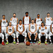 2019 Nba All Star Portraits Poster