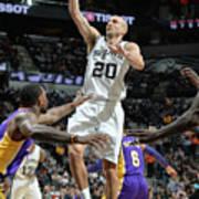 Los Angeles Lakers V San Antonio Spurs Poster
