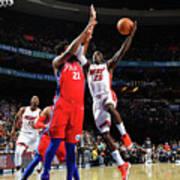 Miami Heat V Philadelphia 76ers Poster