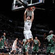 Milwaukee Bucks V Brooklyn Nets Poster