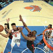 Toronto Raptors V New York Knicks Poster