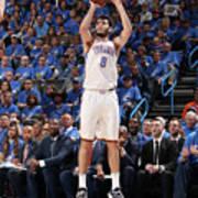Utah Jazz V Oklahoma City Thunder - Poster