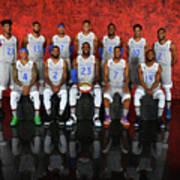 Nba All-star Portraits 2017 Poster