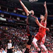 Portland Trail Blazers V Houston Rockets Poster