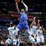 Charlotte Hornets V Orlando Magic Poster
