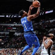 Dallas Mavericks V San Antonio Spurs Poster