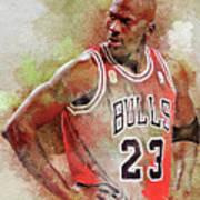 Michael Jeffrey Jordan Poster