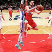 Oklahoma City Thunder V Washington Poster
