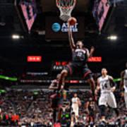 Houston Rockets V San Antonio Spurs - Poster
