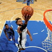 San Antonio Spurs V Orlando Magic Poster