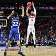 Detroit Pistons V Philadelphia 76ers Poster