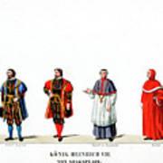 Theatre Costume Designs Poster