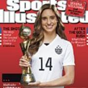 Us Womens National Team 2015 Fifa Womens World Cup Champions Sports Illustrated Cover Poster