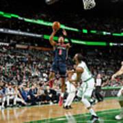 Washington Wizards V Boston Celtics Poster