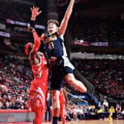 Denver Nuggets V Houston Rockets Poster