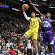 Golden State Warriors V Utah Jazz Poster