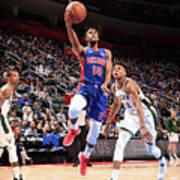 Milwaukee Bucks V Detroit Pistons - Poster