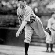 National Baseball Hall Of Fame Library Poster
